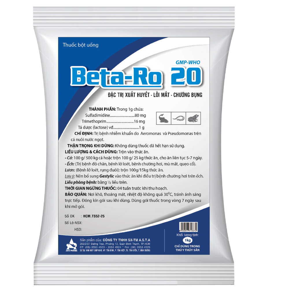 beta ro 20